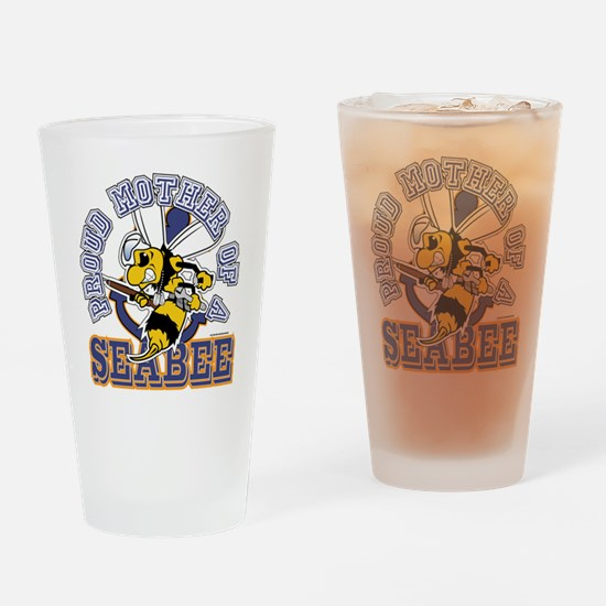 SeaBee Mother t-shirt Drinking Glass