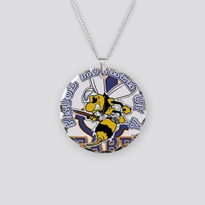 SeaBee Mother t-shirt Necklace Circle Charm