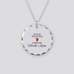 Save Water Drink Bloody Marys Necklace