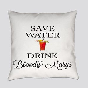Save Water Drink Bloody Marys Everyday Pillow