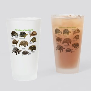 Tortoises of the World Drinking Glass