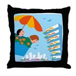 Unforgettable Vacations Throw Pillow
