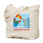 Unforgettable Vacations Tote Bag