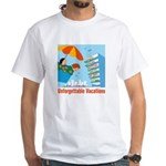 Unforgettable Vacations White T-Shirt