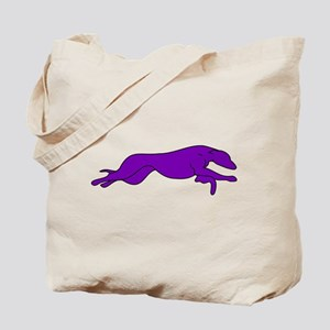 Greyhound Outline multi color Tote Bag
