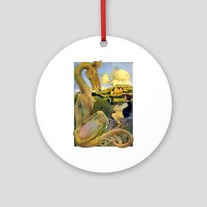 DRAGON TALES Ornament (Round)