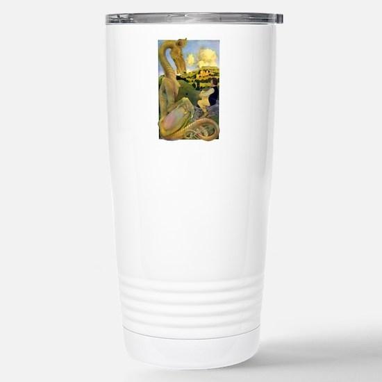 DRAGON TALES Stainless Steel Travel Mug