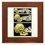 L'Absinthe c'est la mort II Framed Tile