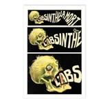 L'Absinthe c'est la mort II Postcards (Package of