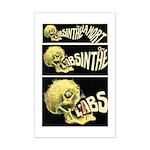 L'Absinthe c'est la mort II Mini Poster Print