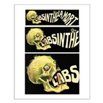 L'Absinthe c'est la mort II Small Poster