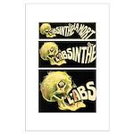 L'Absinthe c'est la mort II Large Poster