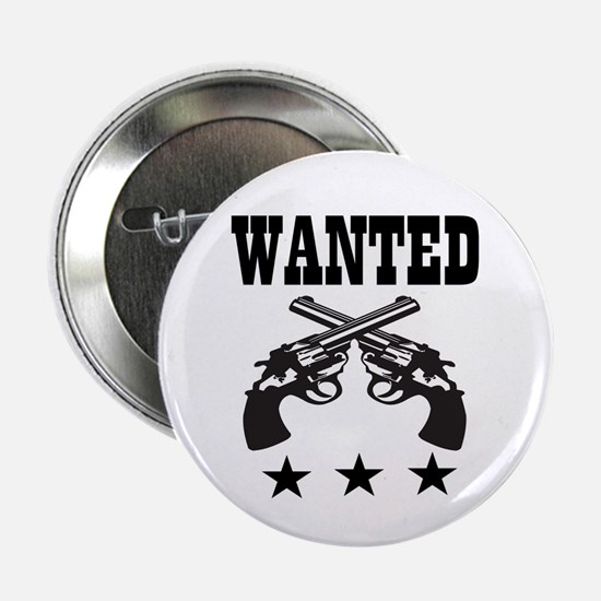 """WANTED 2.25"""" Button"""