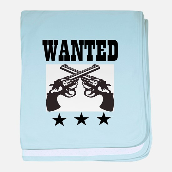 WANTED baby blanket