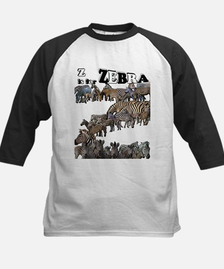 Z is for Zebra Mosaic.jpg Baseball Jersey