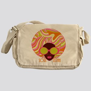 Soul Sistah Brown Messenger Bag