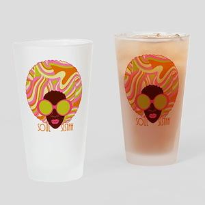 Soul Sistah Brown Drinking Glass