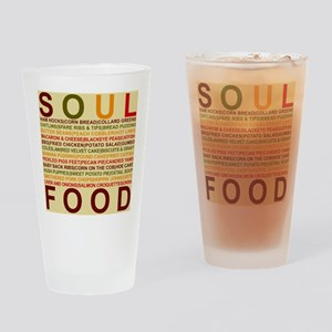 Soul Food List Drinking Glass