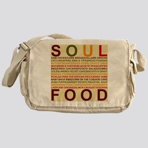 Soul Food List Messenger Bag