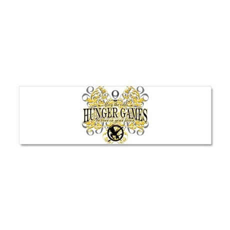 Hunger Games Car Magnet 10 x 3