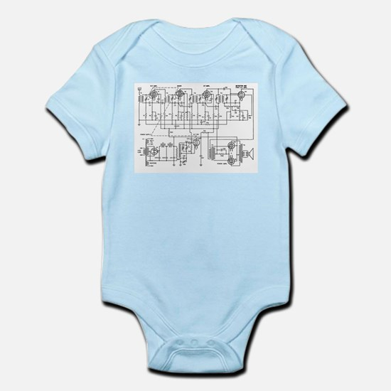 Superheterodyne Receiver Infant Bodysuit