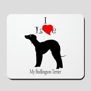 Bedlington Terrier Mousepad