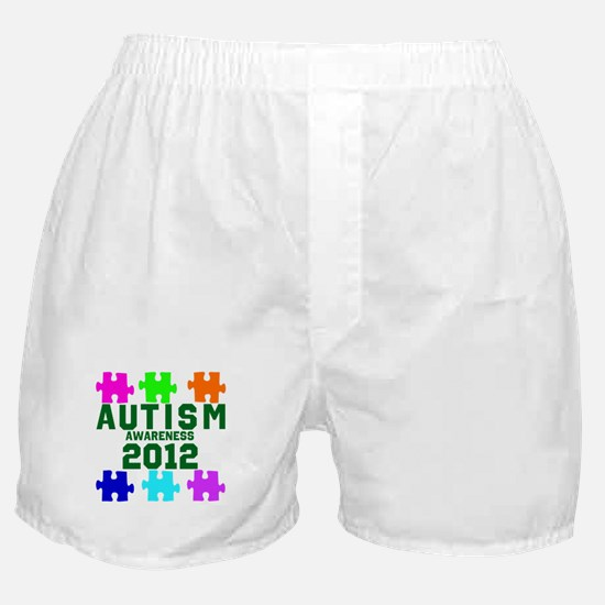 Autism Awareness 2012 Boxer Shorts