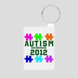 Autism Awareness 2012 Aluminum Photo Keychain