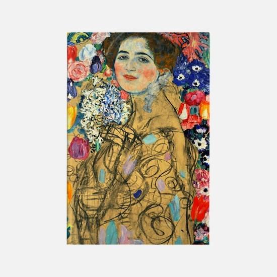 Klimt - Ria Munk Rectangle Magnet