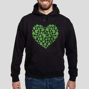 Irish Heart Hoodie (dark)