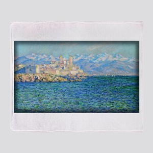 Antibes, Afternoon Effect, Monet, Throw Blanket