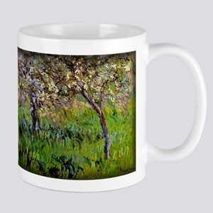Apple Trees in Bloom at Giverny Monet Mug