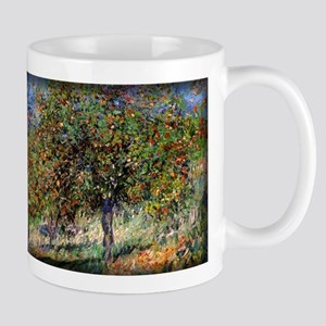 Apple Trees on the Chantemesle Hill, Monet, Mug