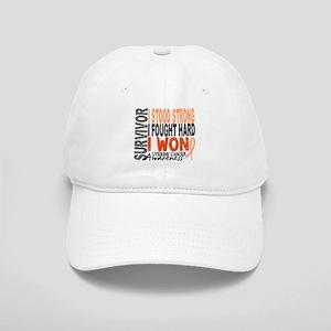 Survivor 4 Uterine Cancer Cap