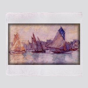 Boats in the Port of Le Havre, Monet, Stadium Bla