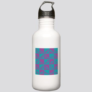 Two Tone Shoes Stainless Water Bottle 1.0L