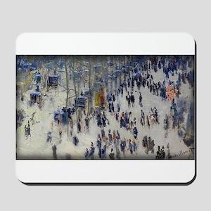 Boulevard des Capucines, Monet, Mousepad