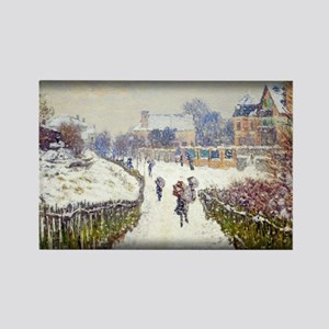 Boulevard St.Denis, Argenteuil, Snow Effect, Monet