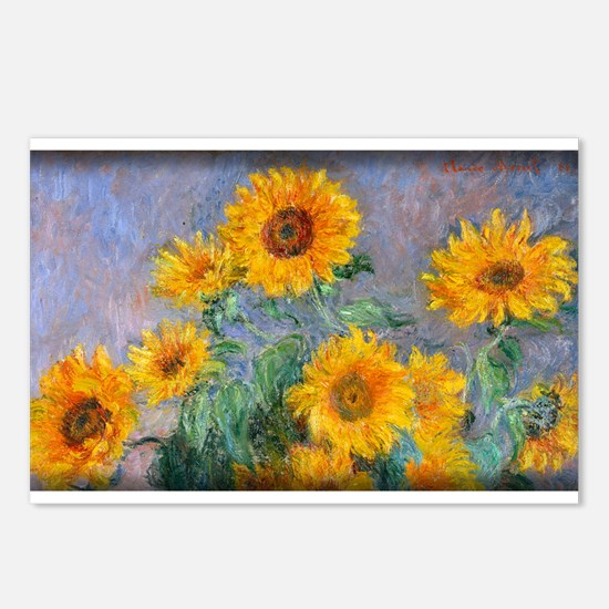Bouquet of Sunflowers, Monet, Postcards (Package o