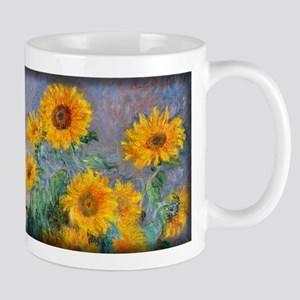 Bouquet of Sunflowers, Monet, Mug