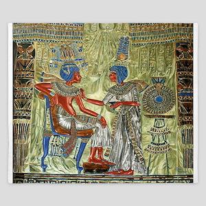 Tutankhamons Throne King Duvet