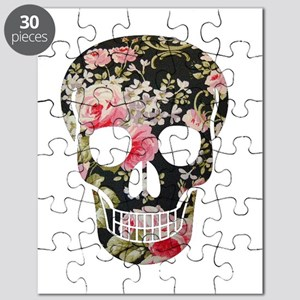 ROSES SKULL Puzzle