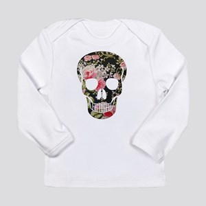 ROSES SKULL Long Sleeve Infant T-Shirt