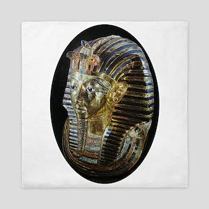 Tutankhamon's Golden Mask Queen Duvet