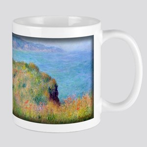 Monet Painting, Cliff near Pourville Mug