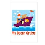 Ocean Cruise Postcards (Package of 8)