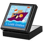 Ocean Cruise Keepsake Box