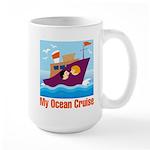 Ocean Cruise Large Mug