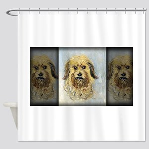 Monet Painting, Head of the Dog, Shower Curtain