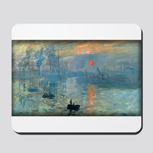 Impression, Sunrise, Monet, Mousepad
